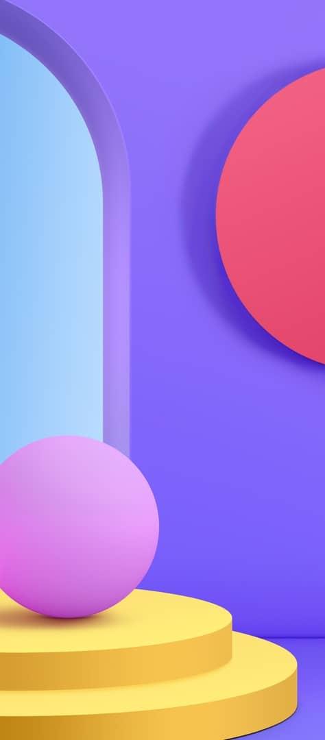 LG Velvet official wallpaper 7