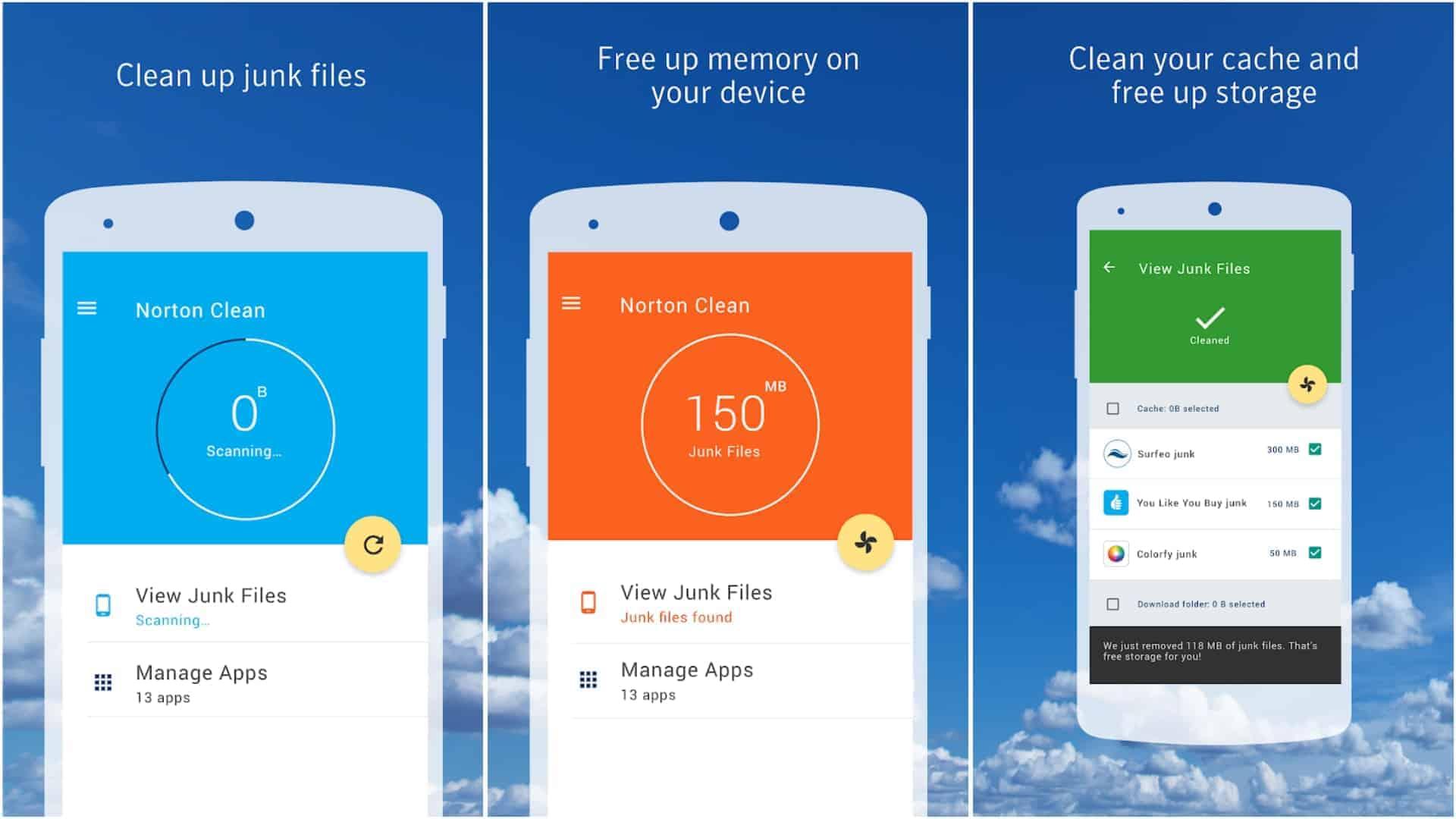 Norton Clean app image May 2020