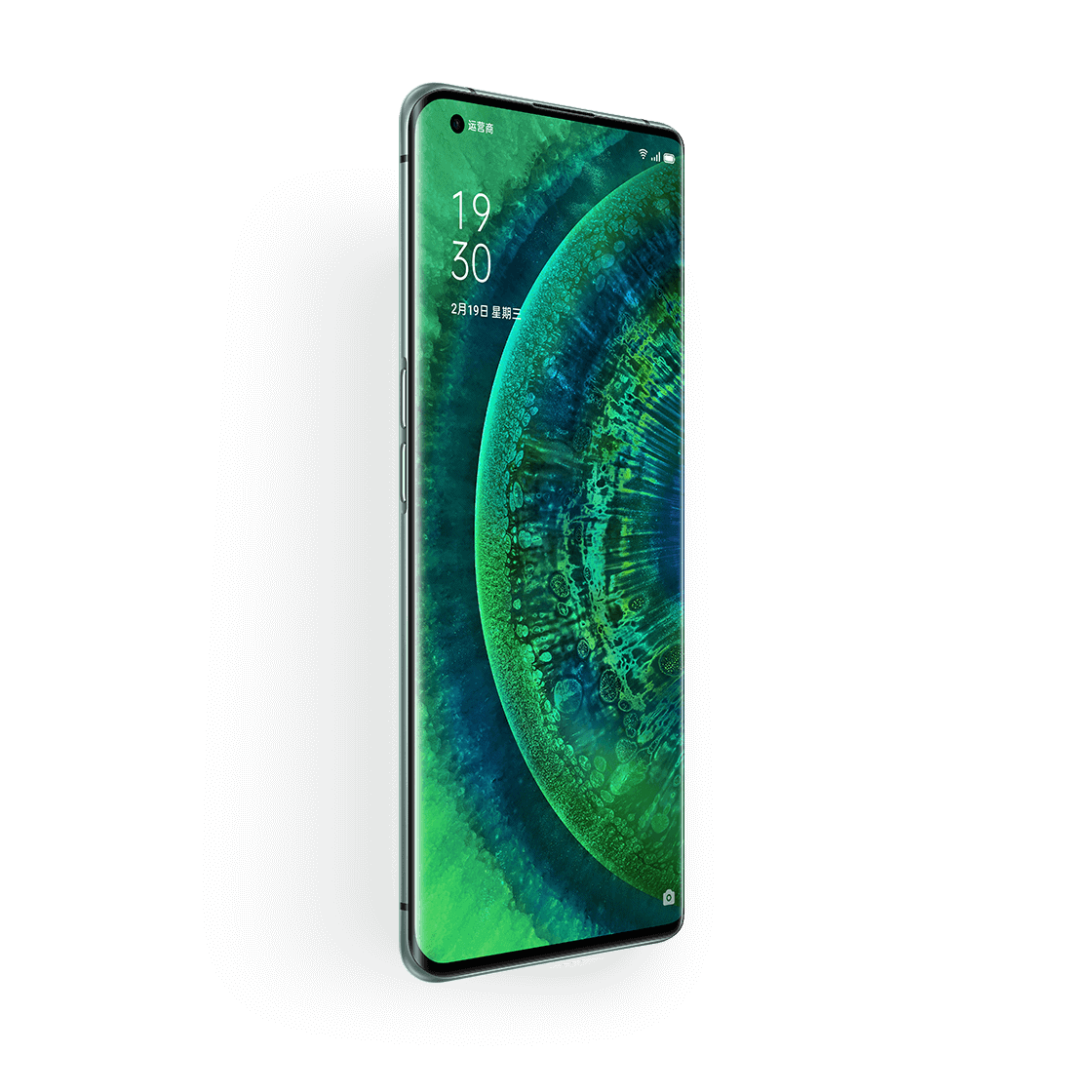 OPPO Find X2 Pro Green Vegan Leather image 3
