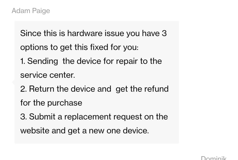 OnePlus 8 Pro black crush issue
