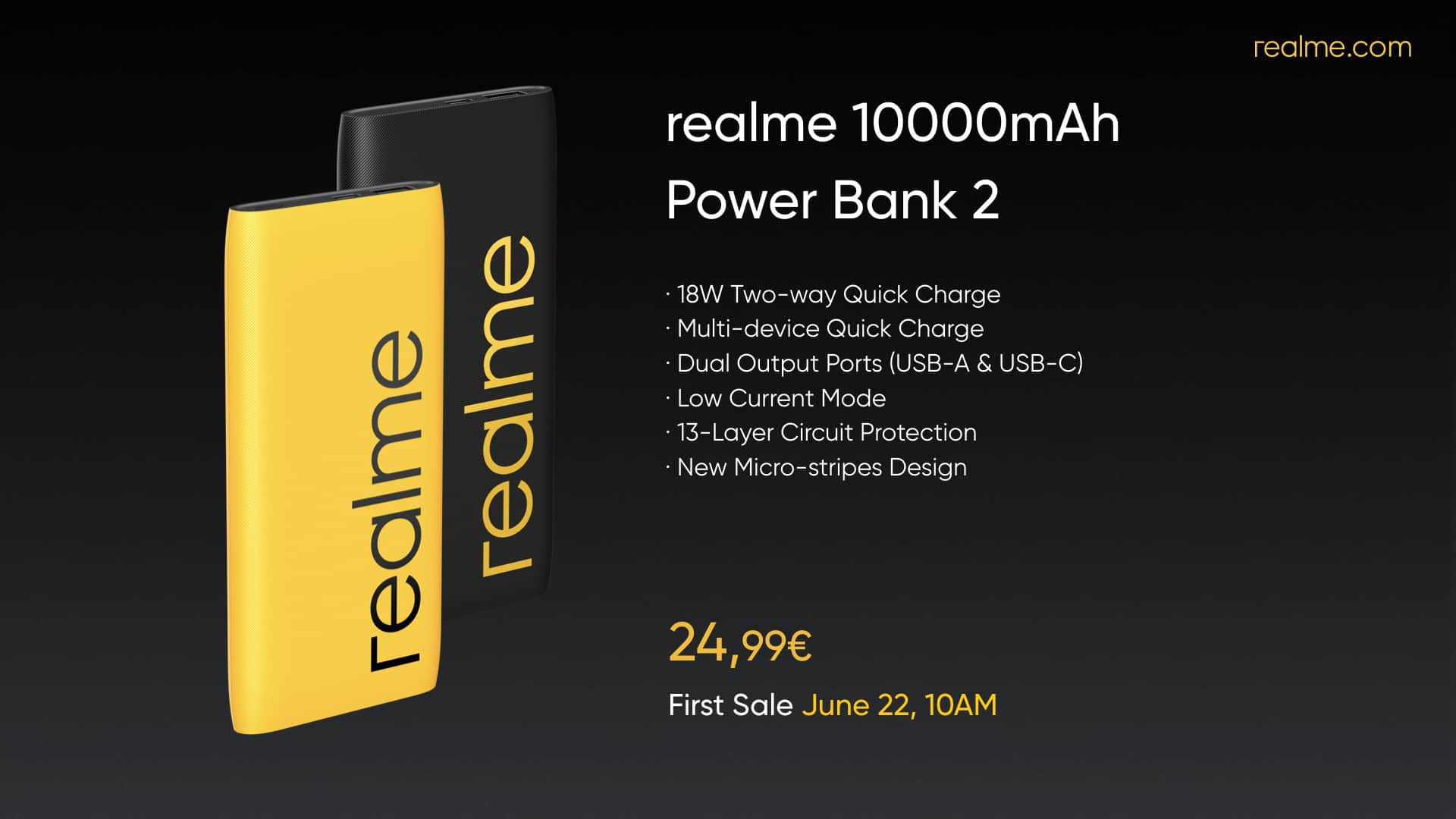Realme 10 000mAh Power Bank 2 image 1