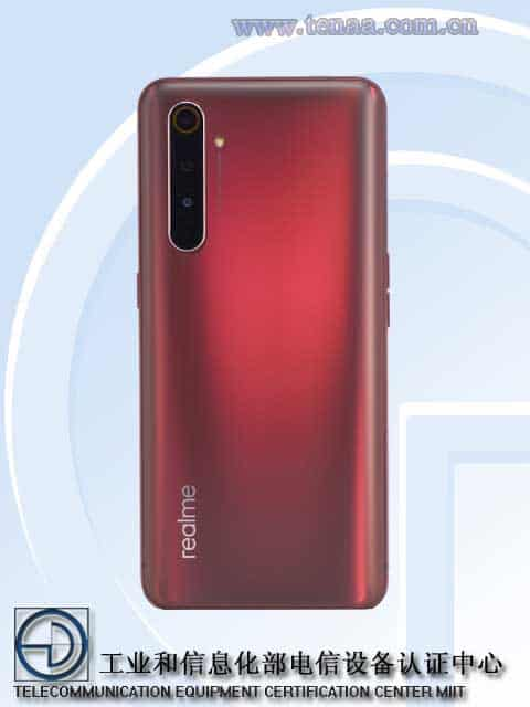 Realme X50 Pro Player Edition TENAA 2