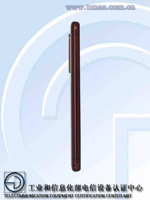 Realme X50 Pro Player Edition TENAA 3