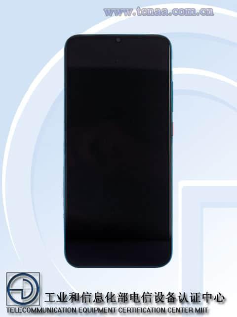 Redmi Note 10 5G TENAA image 1
