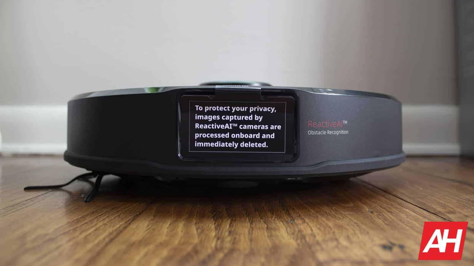 Roborock S6 MaxV disclaimer label privacy