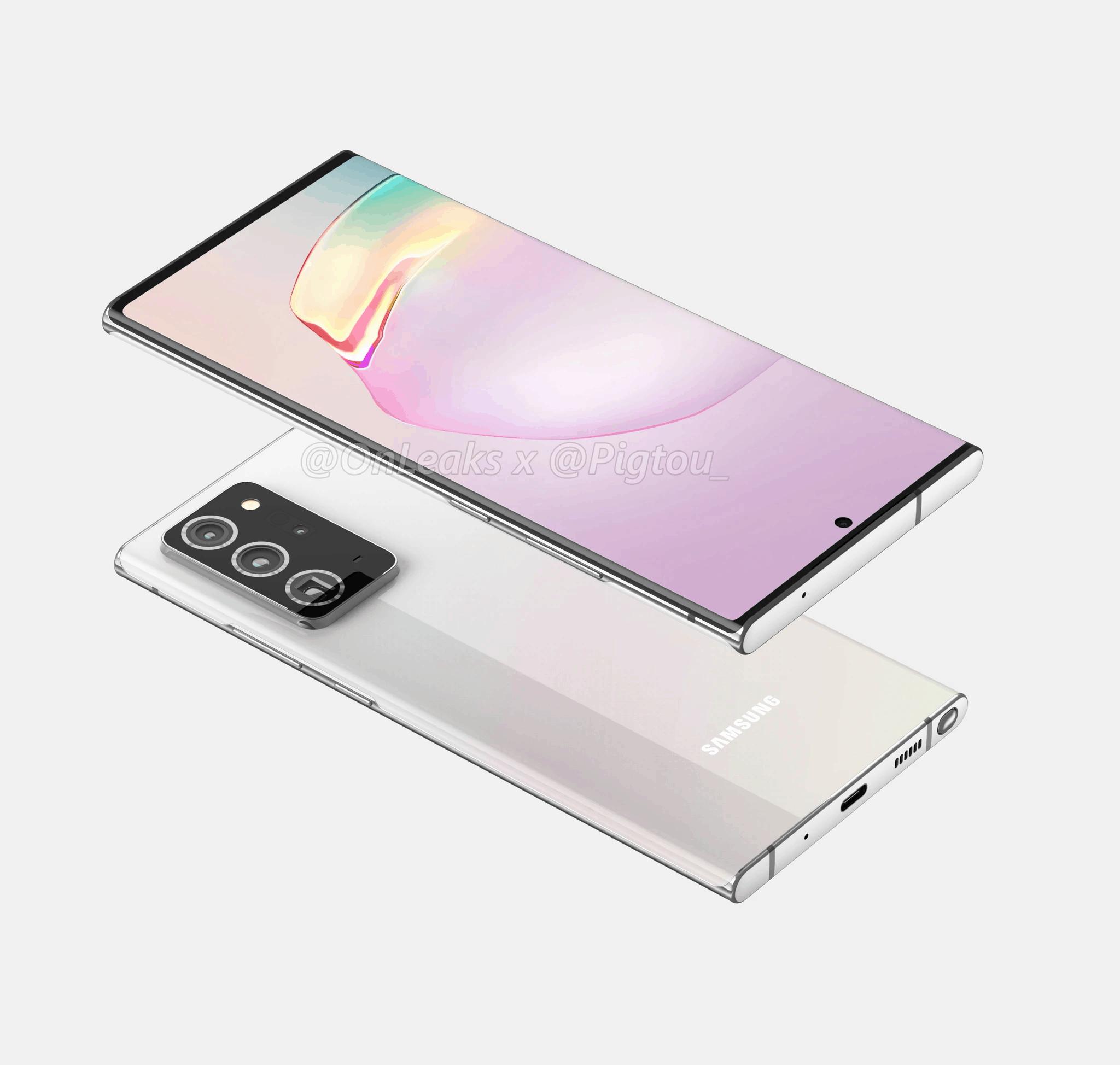 Samsung Galaxy Note 20 Plus render leak 4