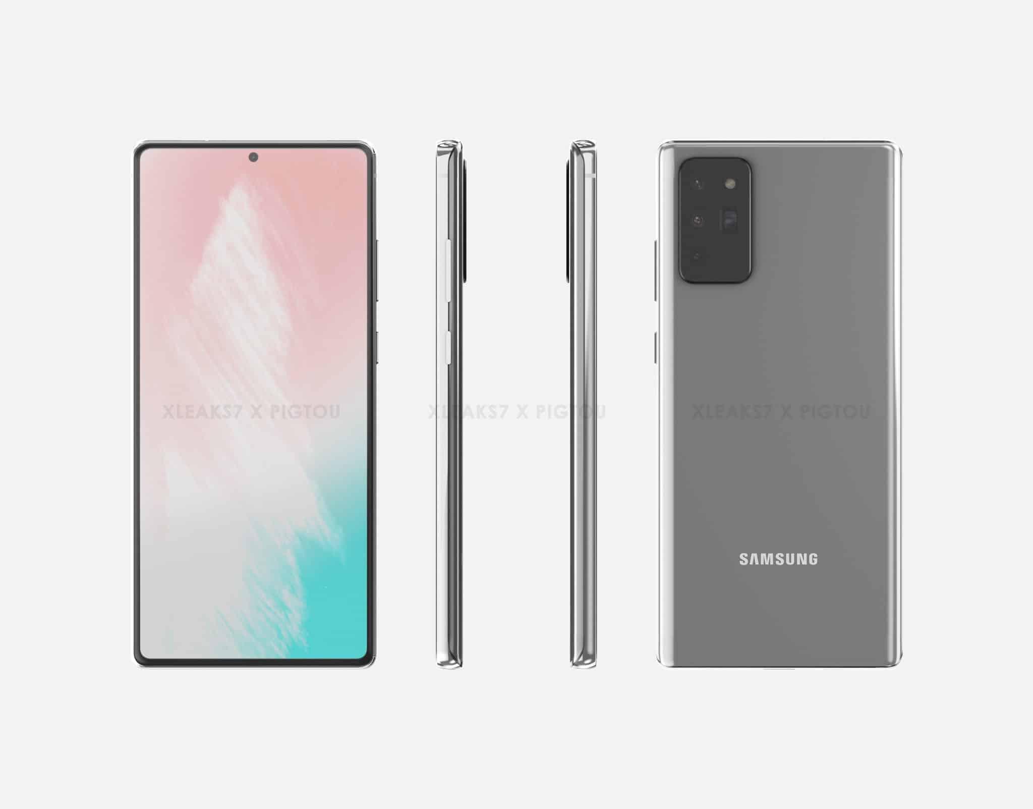 Samsung Galaxy Note 20 Renders 1