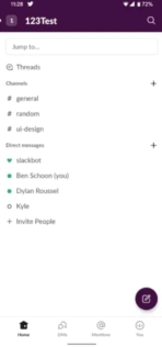 Slack UI update from 9to5Google 01