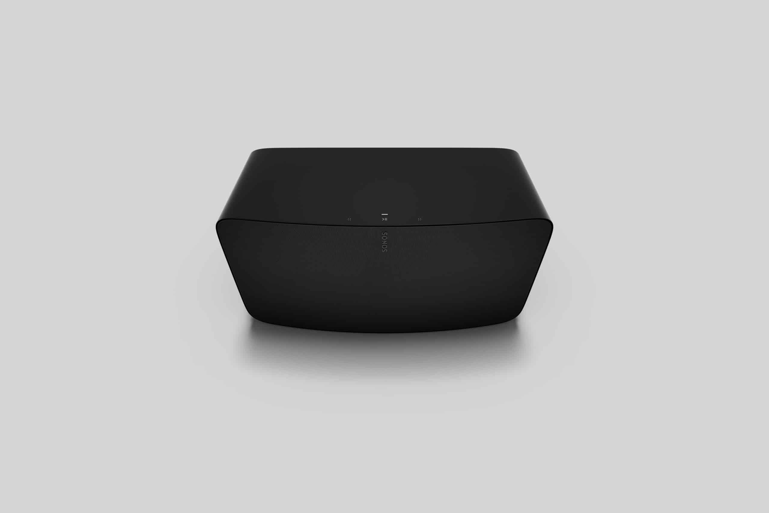 SonosFiveTopAngleBlack