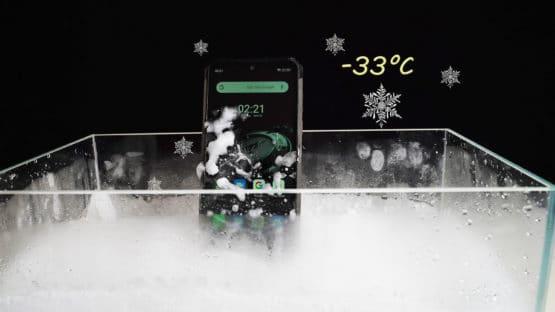 Ulefone Armor 7E extreme temperature test
