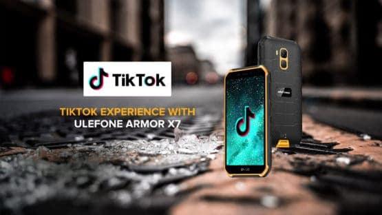 Ulefone Armor X7 TikTok