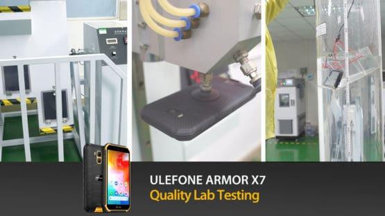 Ulefone Armor X7 quality testing