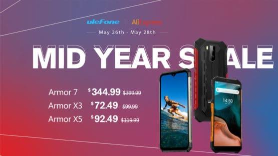 Ulefone May 2020 sale