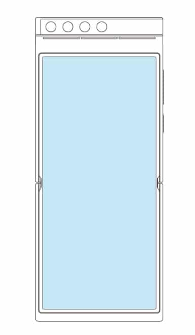 Xiaomi foldable phone patent rotating cameras 1