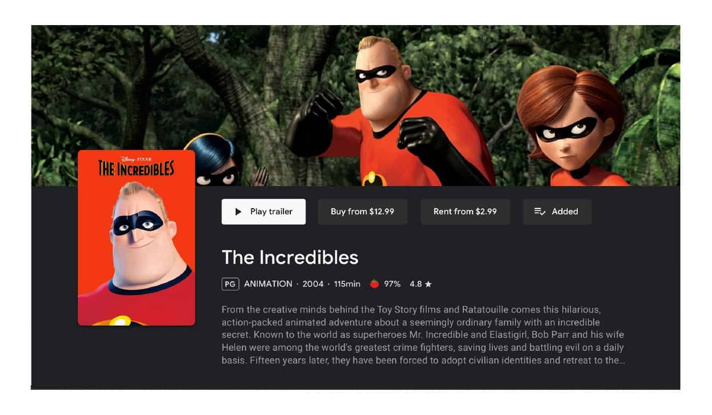 google play movies tv android redesign 3