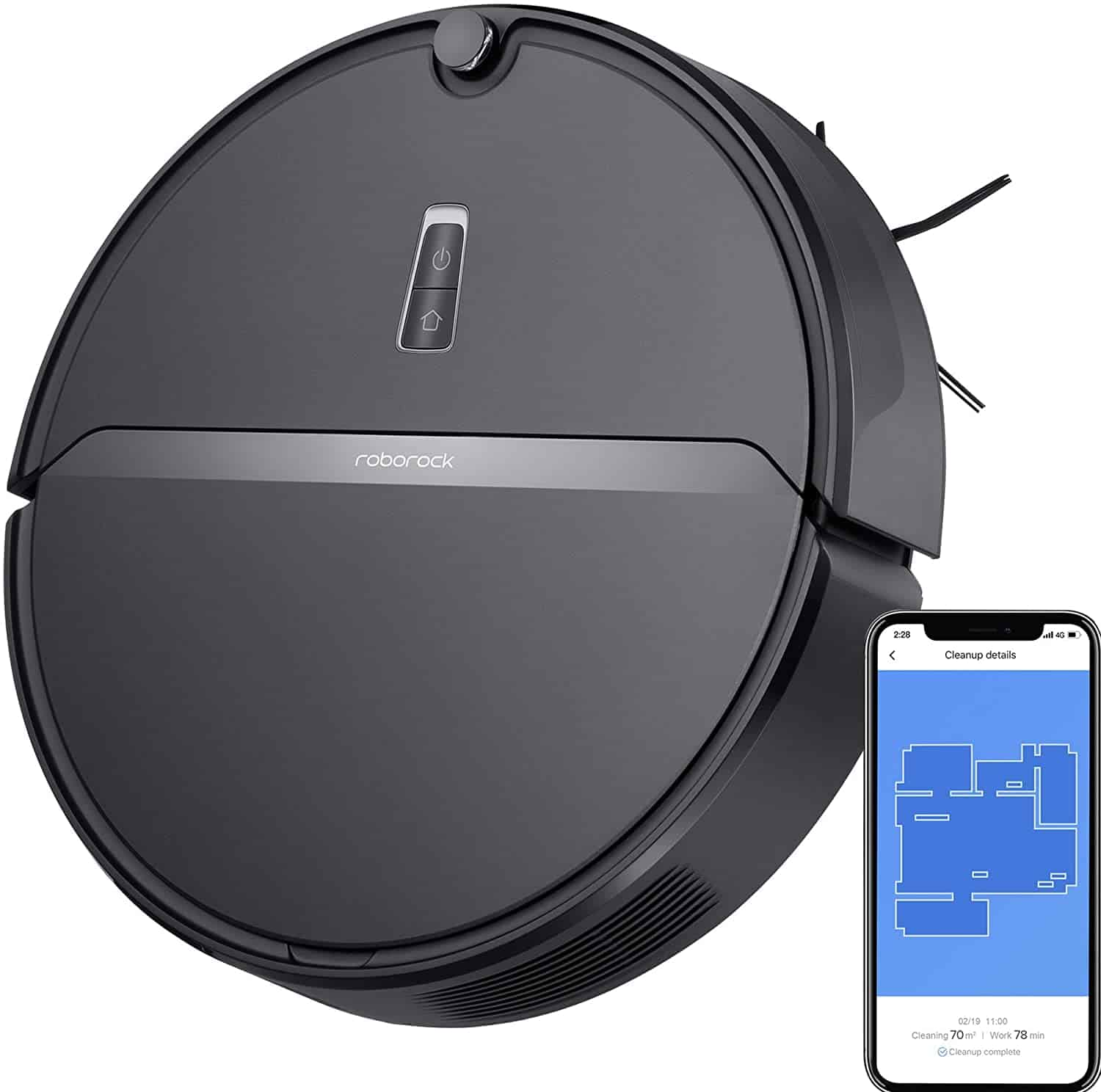Roborock E4 Robot Vacuum Cleaner - Amazon