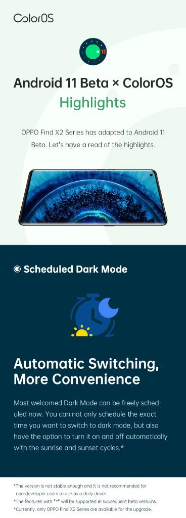 Android 11 Beta OPPO Find X2 image 1