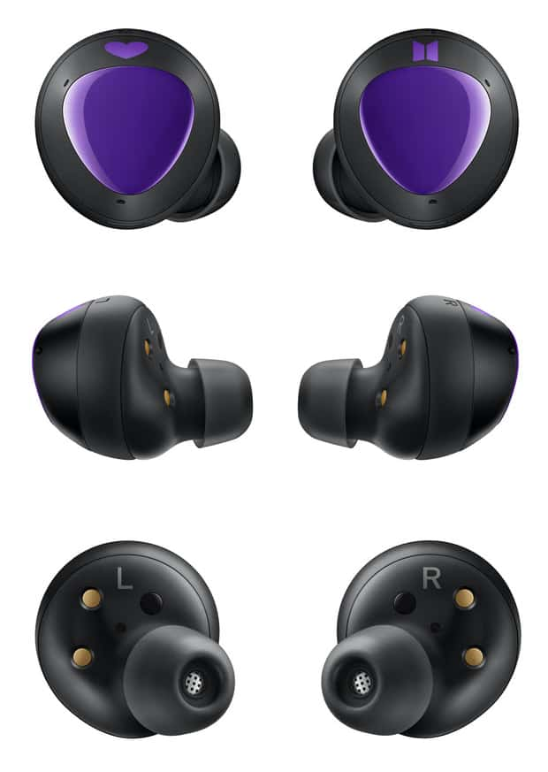 BTS Samsung Galaxy Buds render leak 7