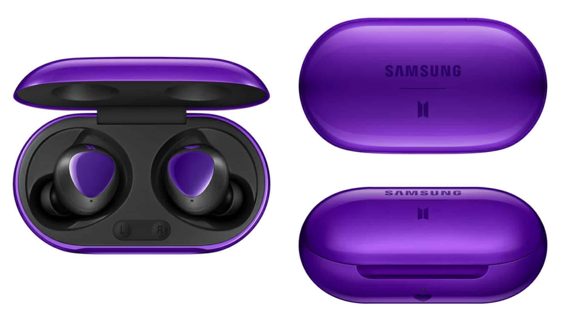 BTS Samsung Galaxy Buds render leak featured