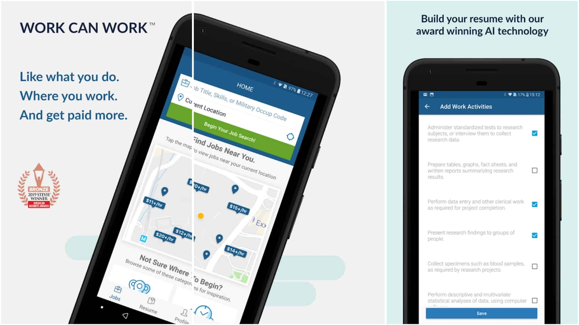 CareerBuilder app image June 2020