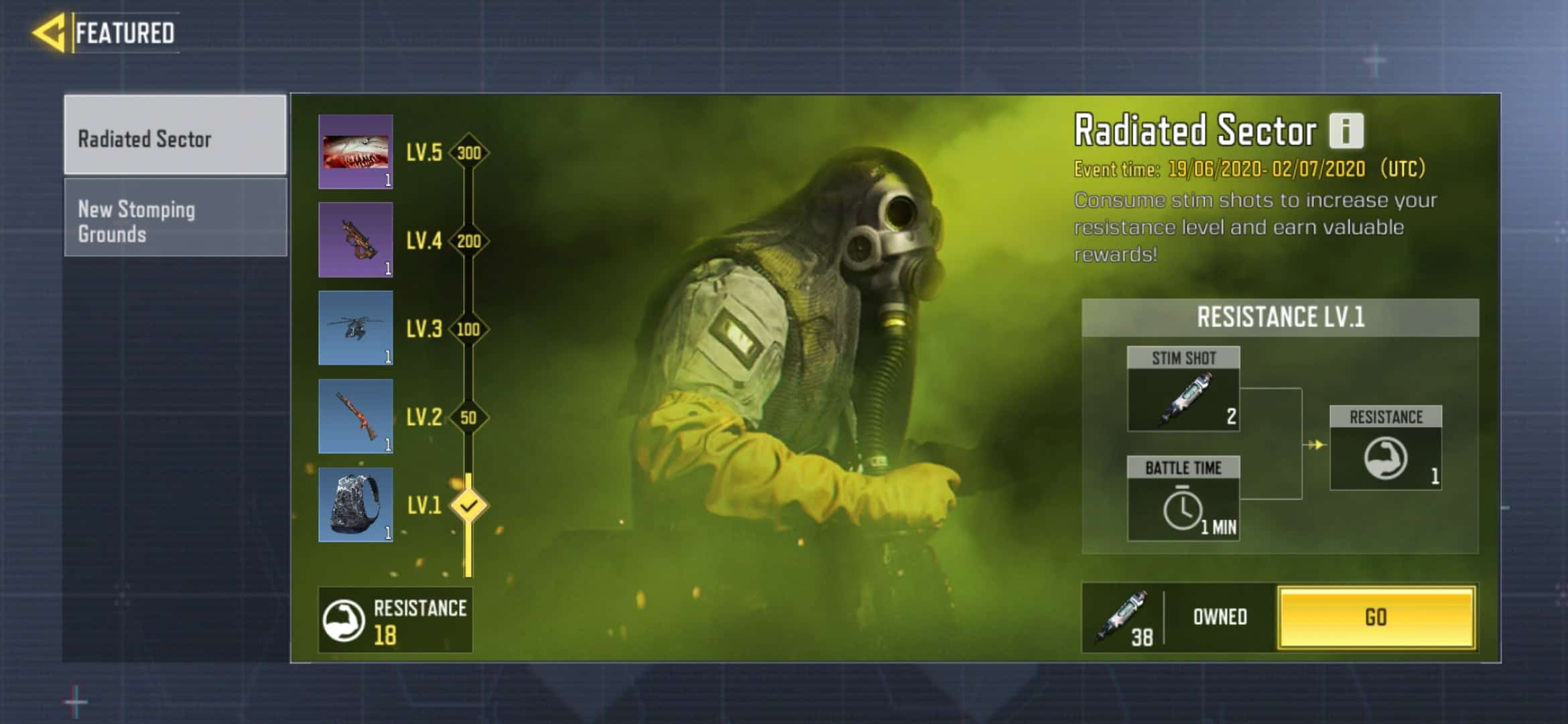 CoD Mobile Free Loot Irradiated Sector Event
