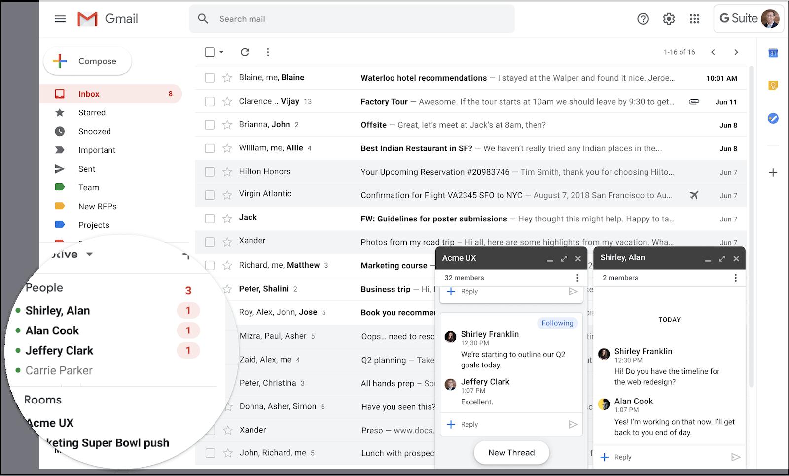 G Suite Google Chat Migration 1