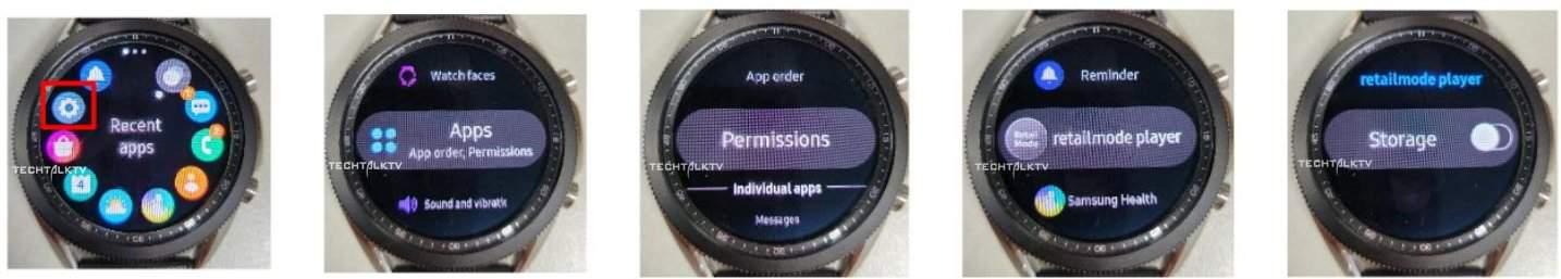 Galaxy Watch 3 photos leak 1