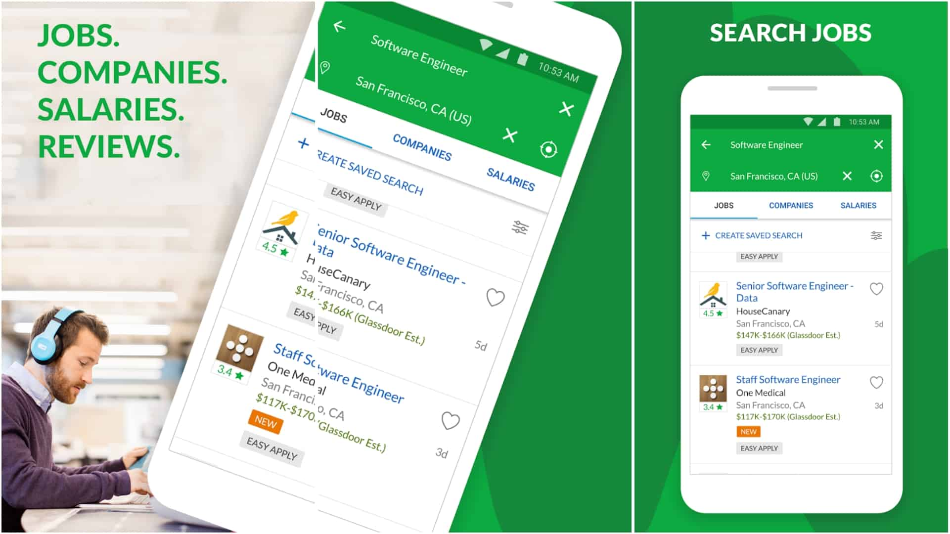 Glassdoor app image June 2020