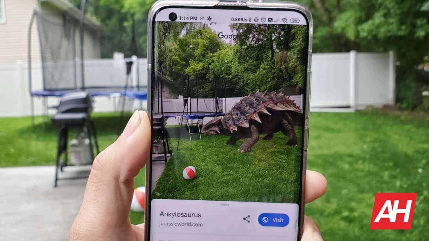 Google Search Jurassic World 3D AR Dinosaurs AH 2020