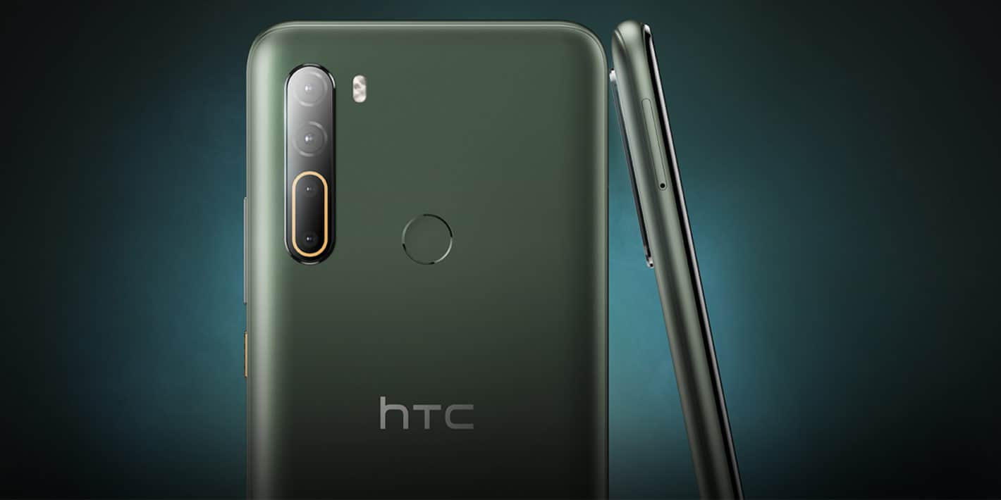 HTC U20 5G Goes Official With Snapdragon 765G & Quad Rear Cameras