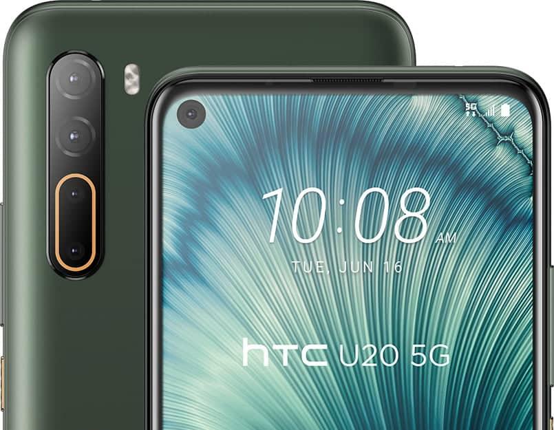 HTC U20 5G Cameras