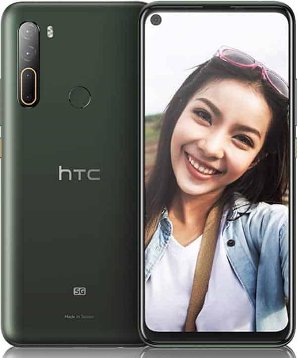 HTC U20 5G Front Back