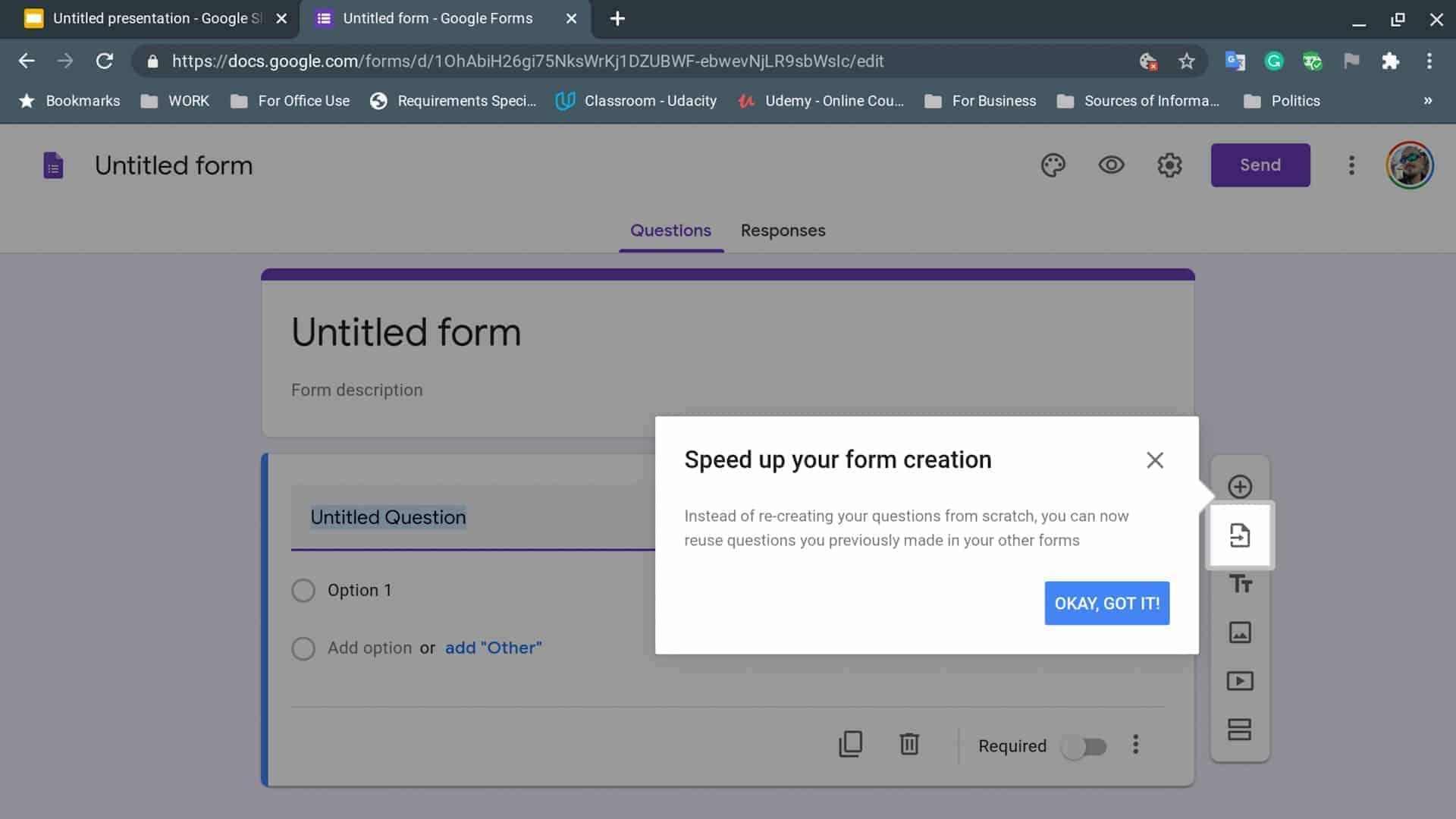Chrome new file shortcuts 10