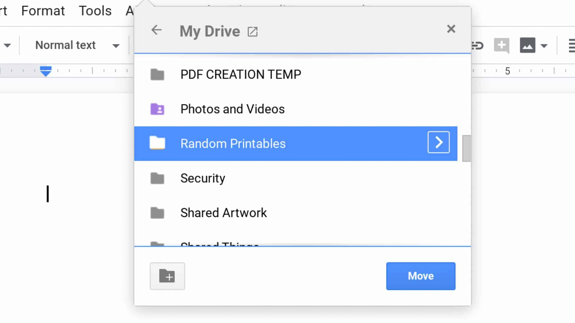 Chrome new file shortcuts 16