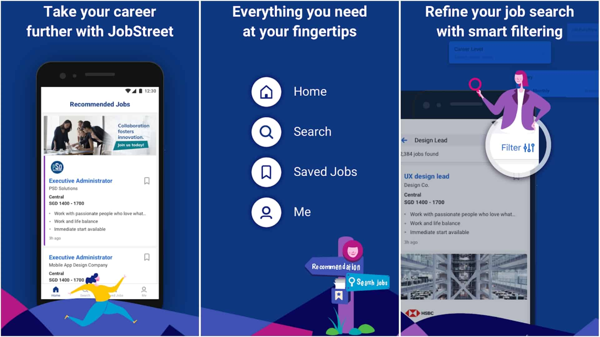 JobStreet app image June 2020