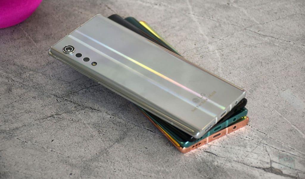 LG Velvet 4G real life image leak 2