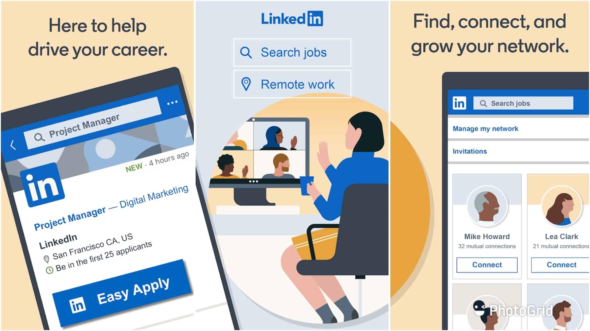 LinkedIn app image June 2020 1