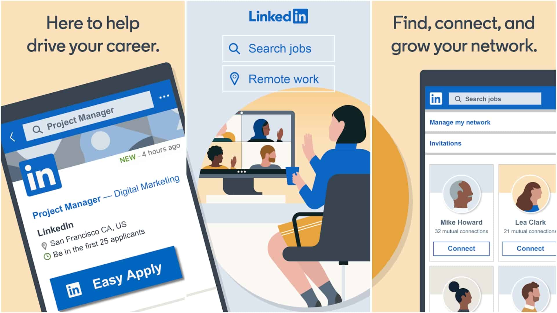 LinkedIn app image June 2020