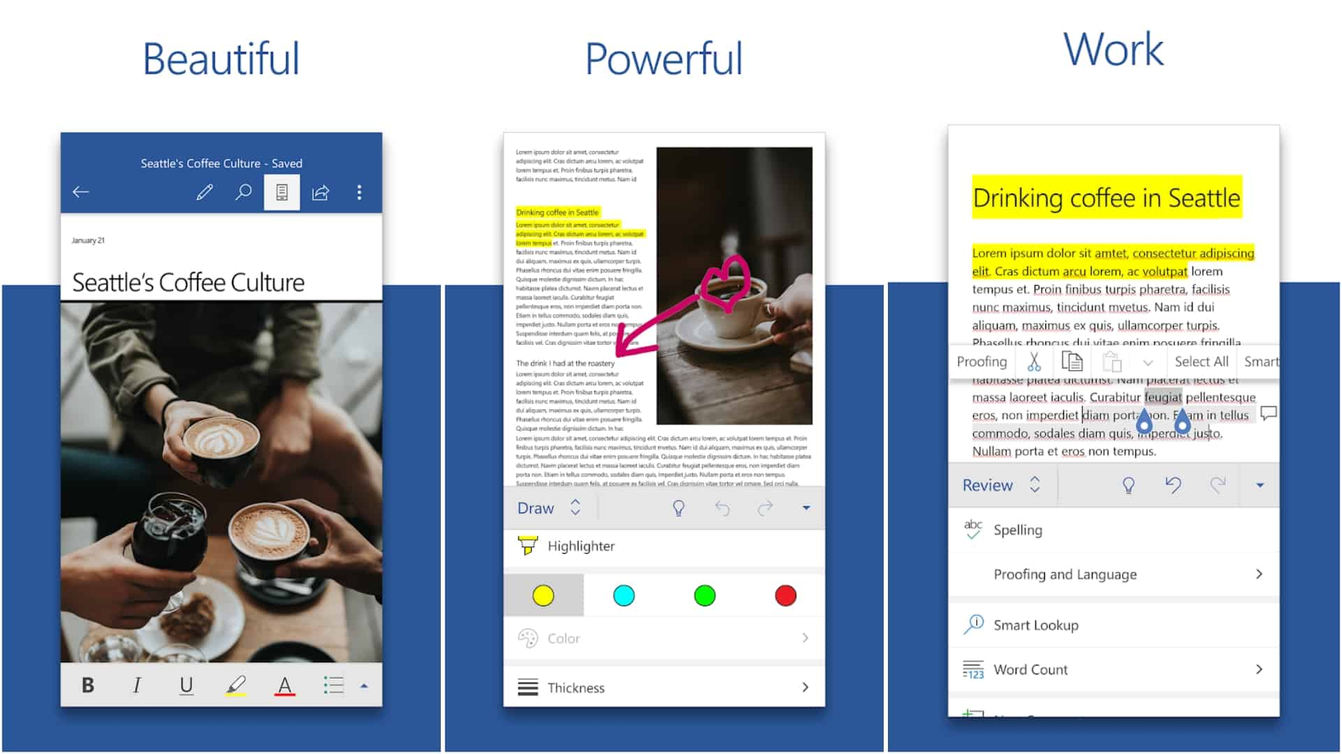 Microsoft Word app image June 2020
