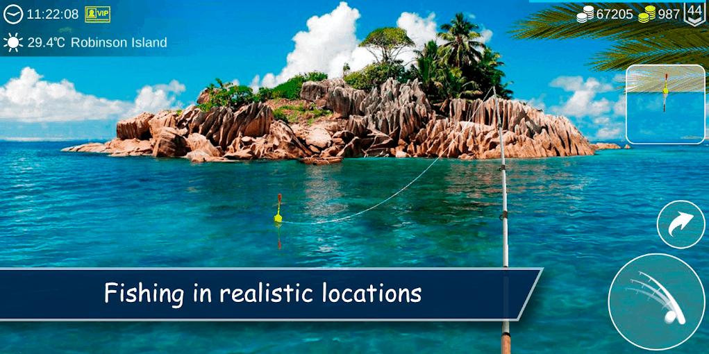 My Fishing World app image June 2020