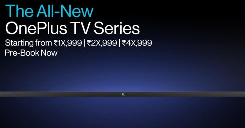 OnePlus TV three variants