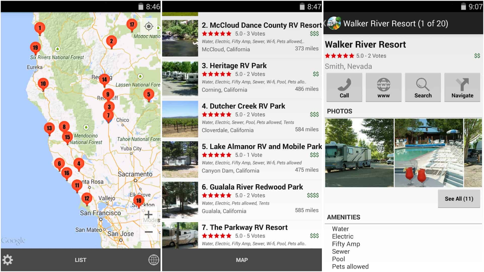RV Parks and Campgrounds app image June 2020