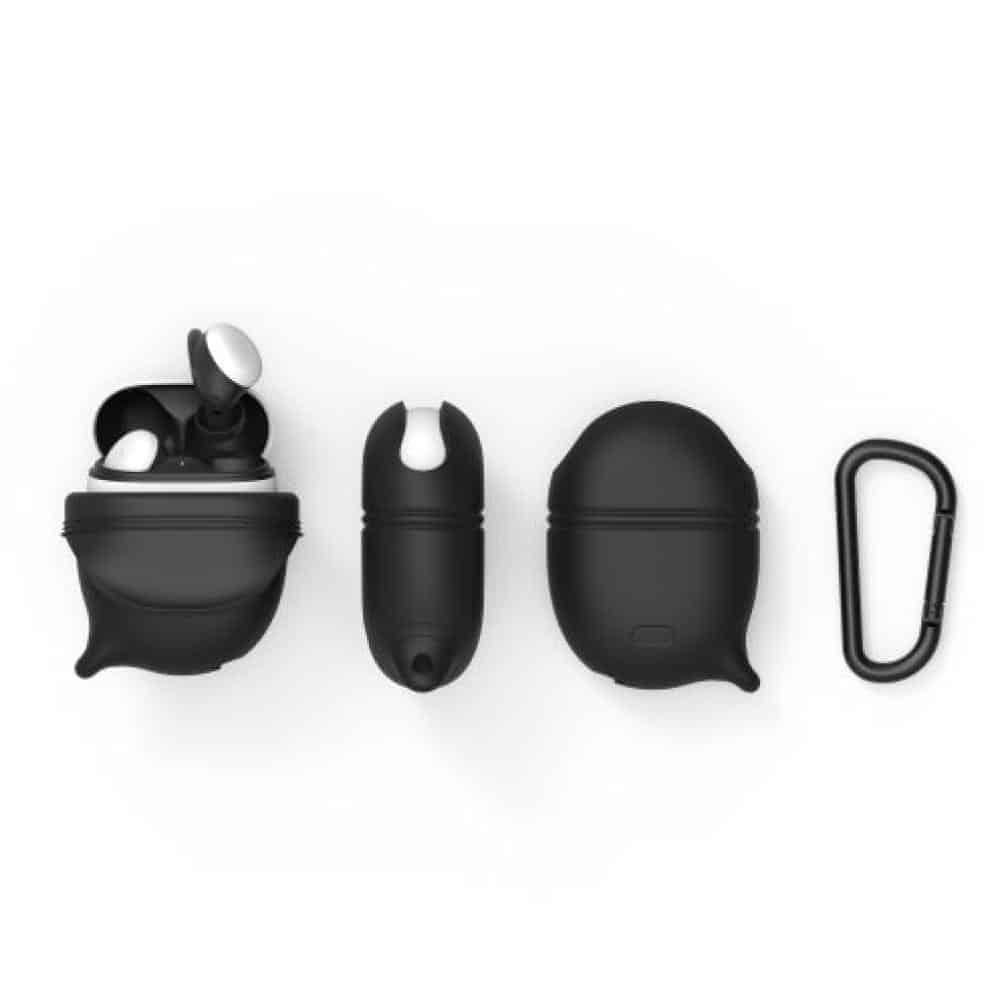 Ragu ecommerceListing Black9 SKU CATRAGBLK1 Catalyst Google Pixel Buds 2 Waterproof Case 02