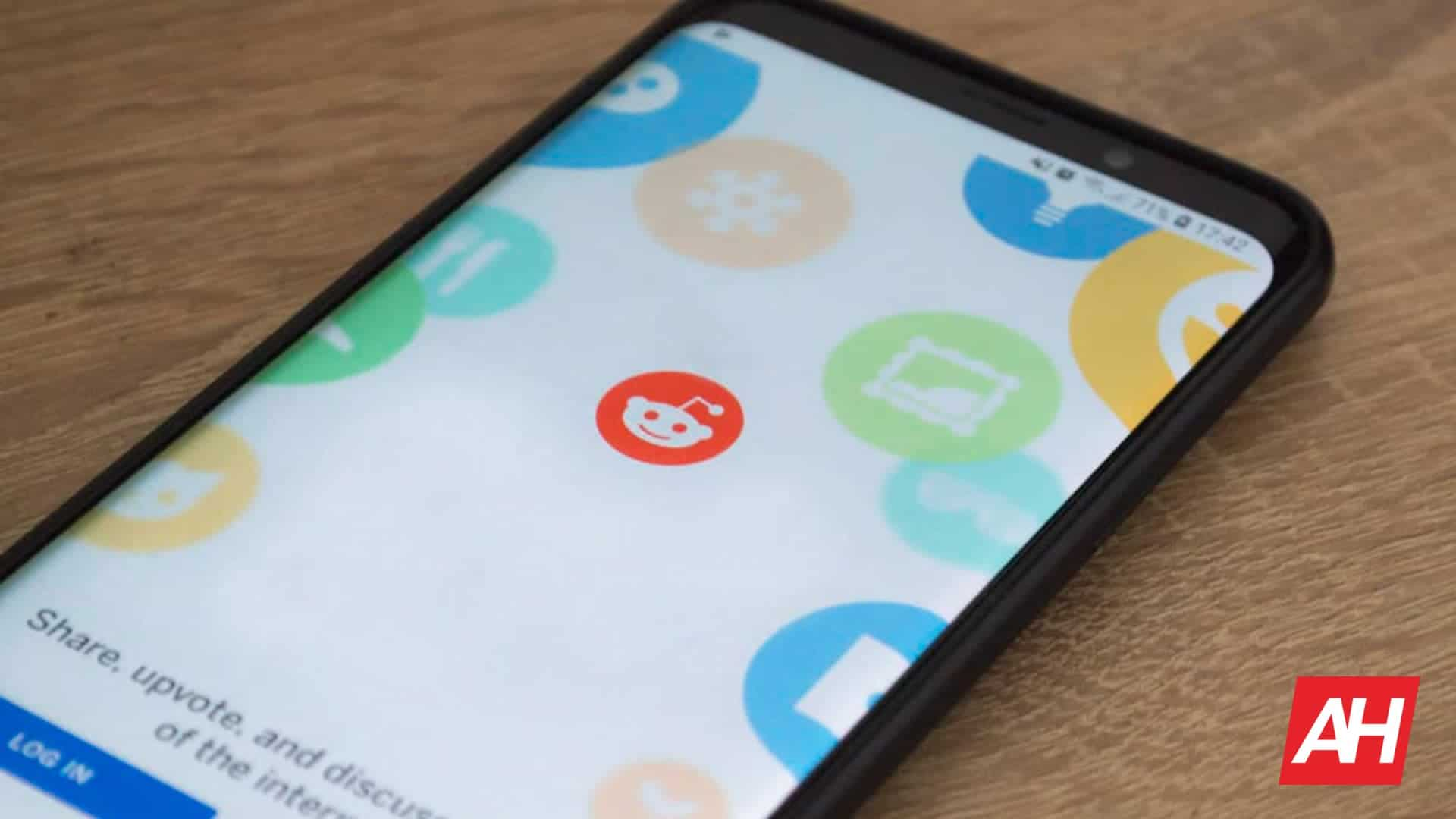 Reddit App Login Screen Logo July 2018 AH 2020