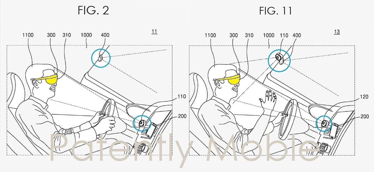 Samsung AR Glasses Patent 3