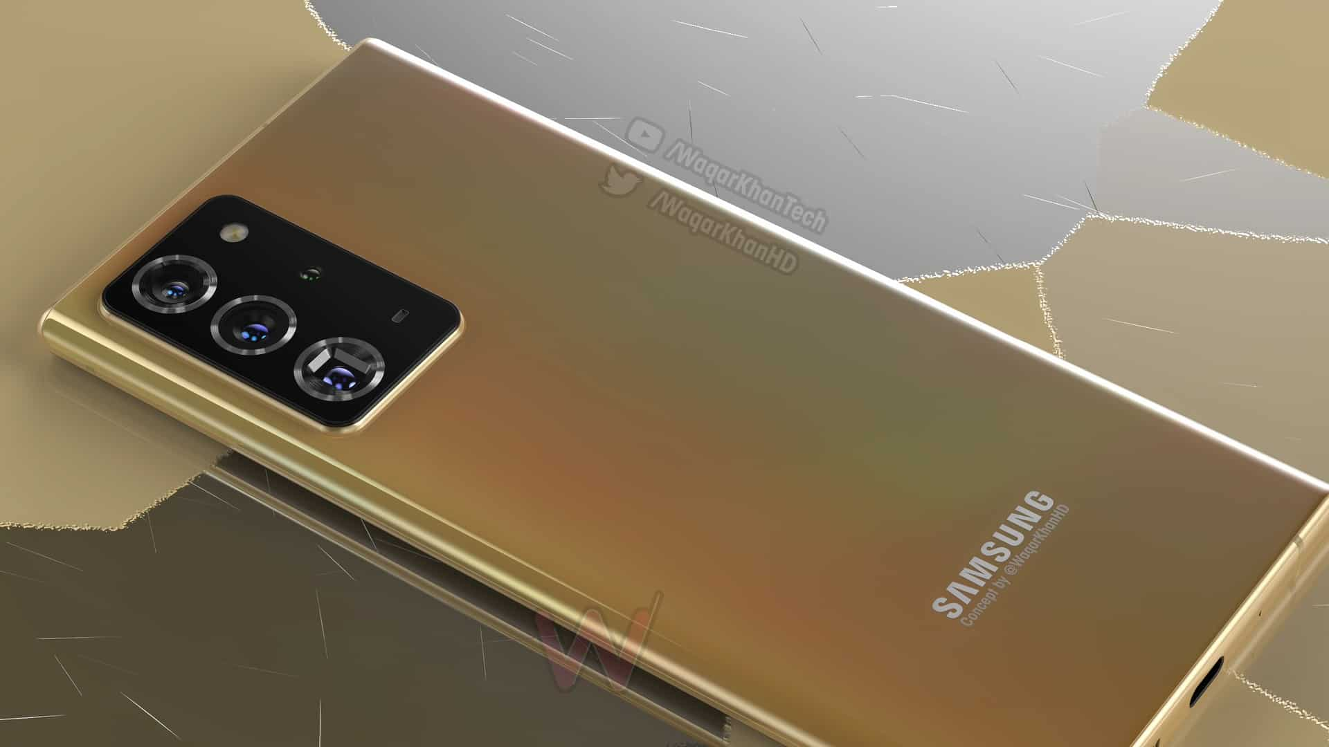 Samsung Galaxy Note 20 Plus concept image 9