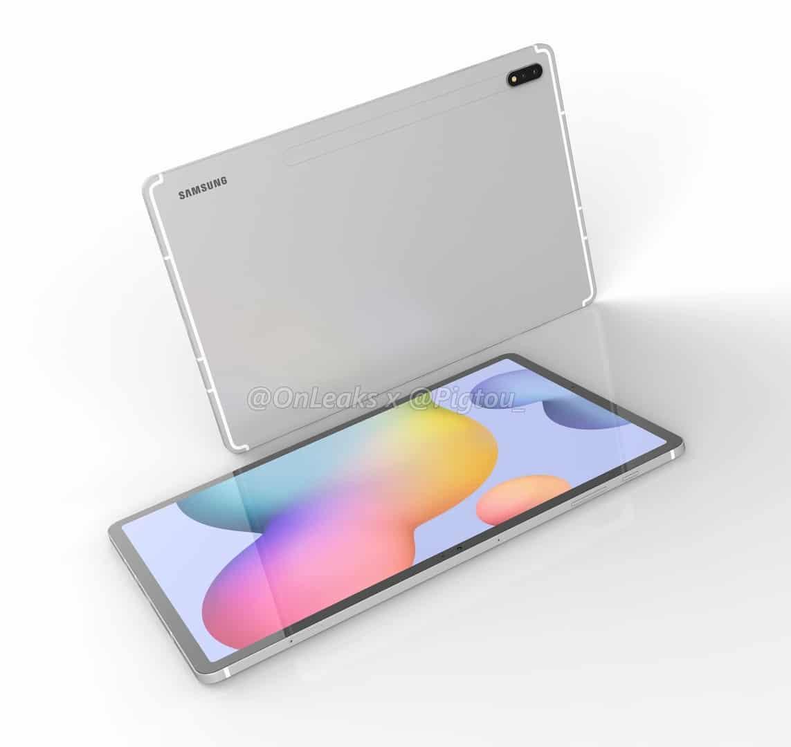Samsung Galaxy Tab S7 render leak 2