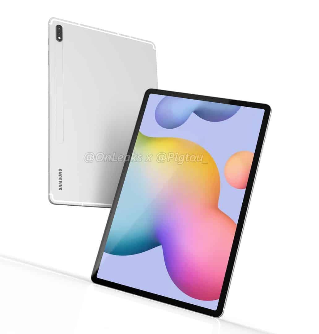 Samsung Galaxy Tab S7 render leak 4