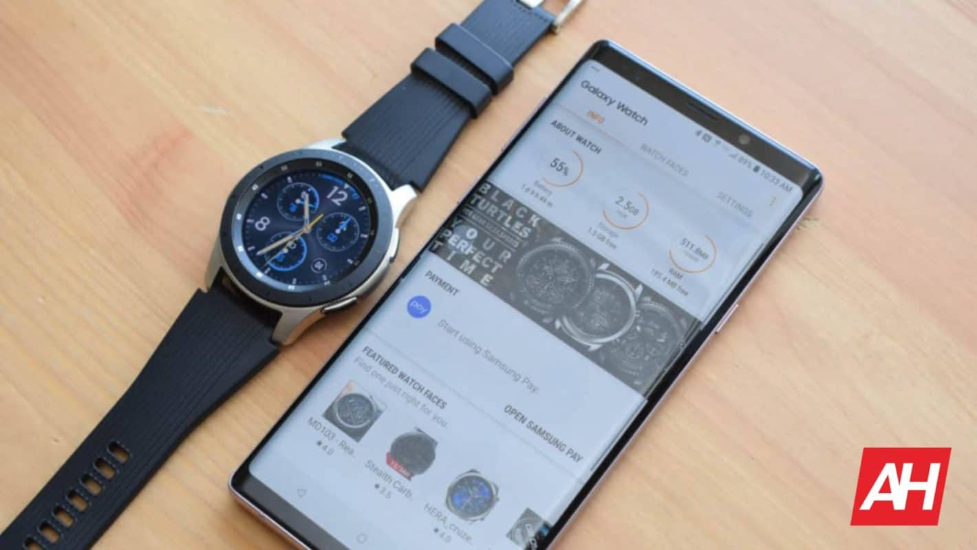 Samsung Galaxy Watch Review AM AH 2020 edit