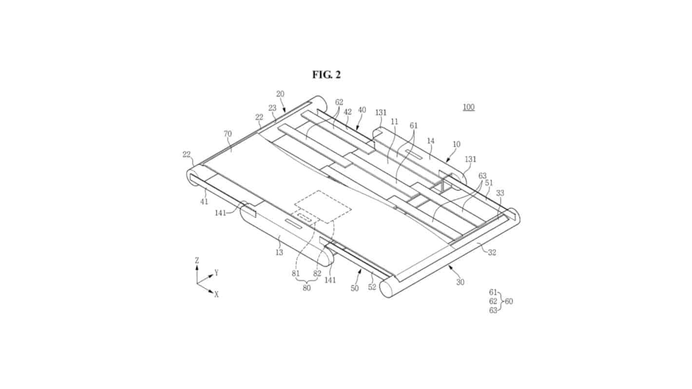 Samsung Rollable Display Design 2